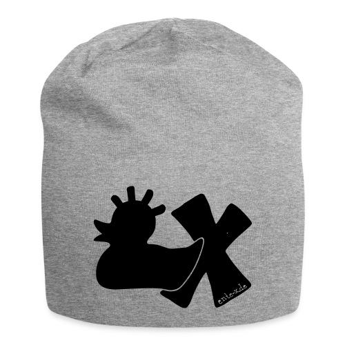 PunkEnte mit X v3.3 - Jersey-Beanie