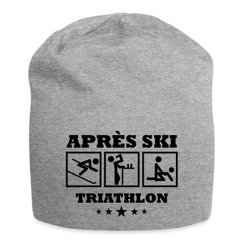 Apres Ski Triathlon | Apreski-Shirts gestalten - Jersey-Beanie