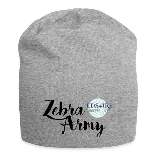 Zebra Army (black) - Jersey Beanie