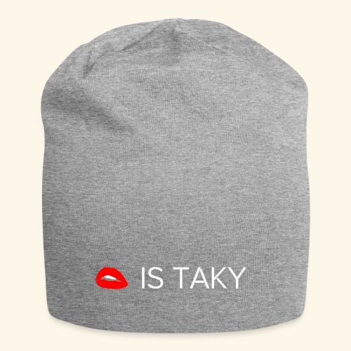 Is Taky White - Jersey-Beanie