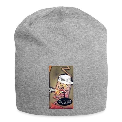 Coussin gangsta😃 - Bonnet en jersey