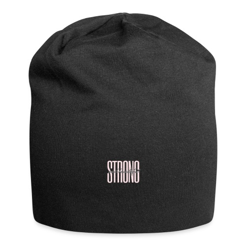 Strong and beautiful - Jersey-Beanie