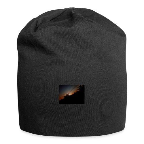 Cielo eclipsado - Gorro holgado de tela de jersey