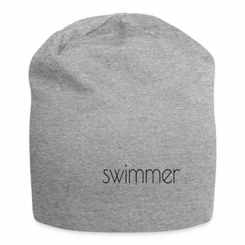 swimmer text - Jersey-Beanie