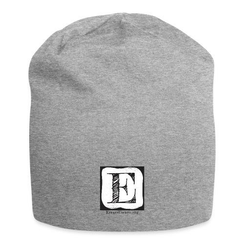 Logo ErrareUmano (scritta nera) - Beanie in jersey