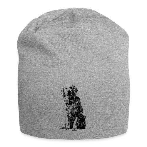 Golden Retriever - Hunde Geschenkidee - Jersey-Beanie