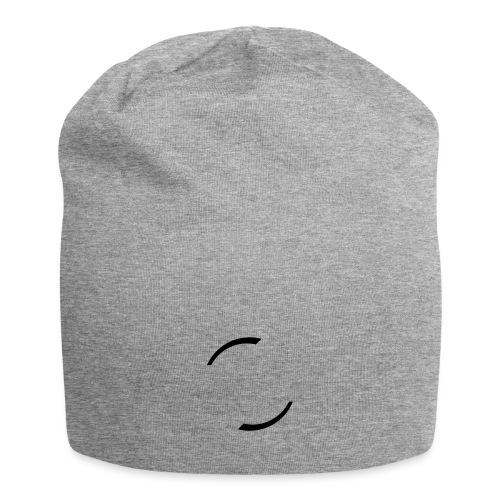 LyonHipHop-Noir-Virgules - Bonnet en jersey