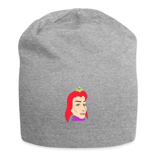 queen - Gorro holgado de tela de jersey