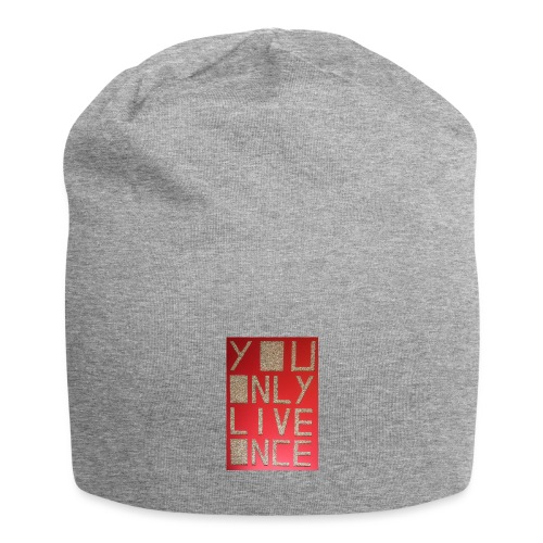 Thomas Schöggl ART YOU ONLY LIVE ONCE - Jersey-Beanie