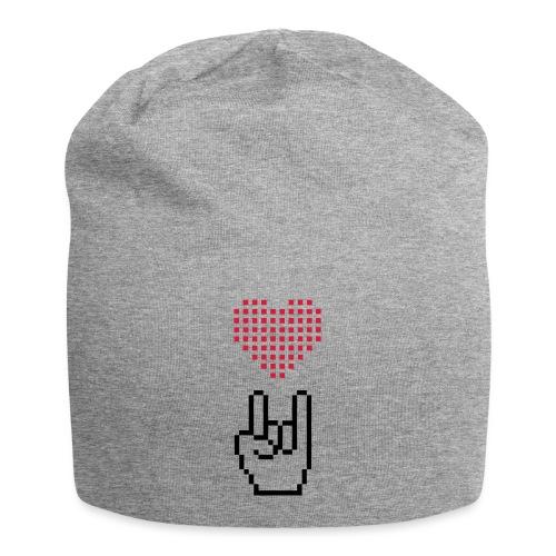 Pixel Love Rock - Jersey-Beanie