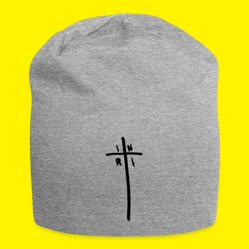 Cross - INRI (Jesus of Nazareth King of Jews) - Jersey Beanie