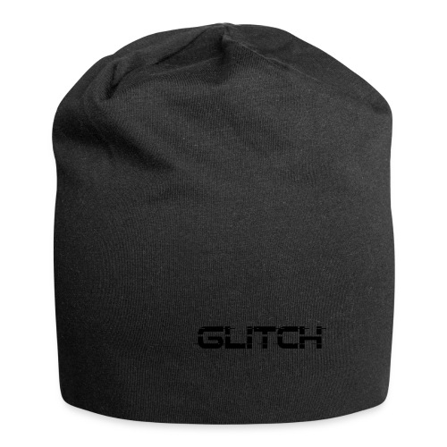 LOGO GLITCH - Beanie in jersey