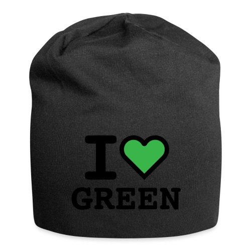 i-love-green-2.png - Beanie in jersey