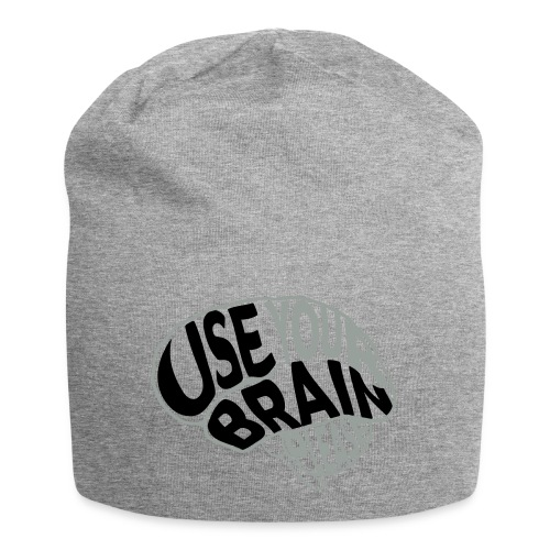 Use your brain - Beanie in jersey