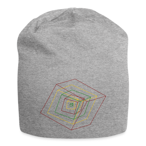 Rasta Cubes - Bonnet en jersey