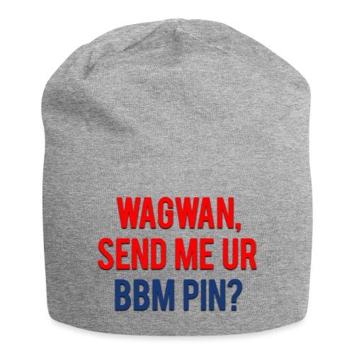 Wagwan Send BBM Clean - Jersey Beanie