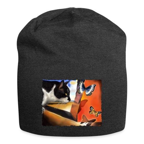 Il gatto di Dalí - Beanie in jersey