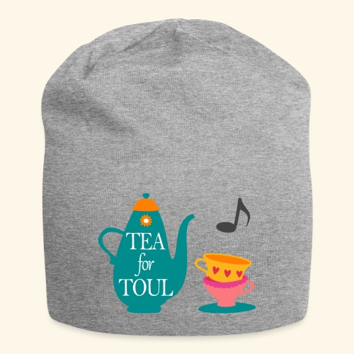 Tea for Toul - Bonnet en jersey