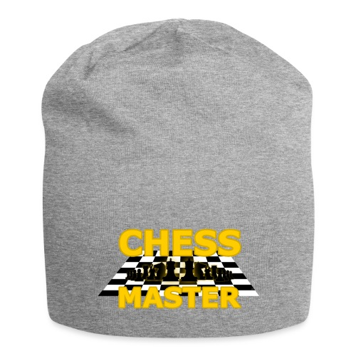 Chess Master - Black Version - By SBDesigns - Jersey Beanie