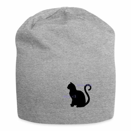 Mon Chat Mon <3 - Bonnet en jersey