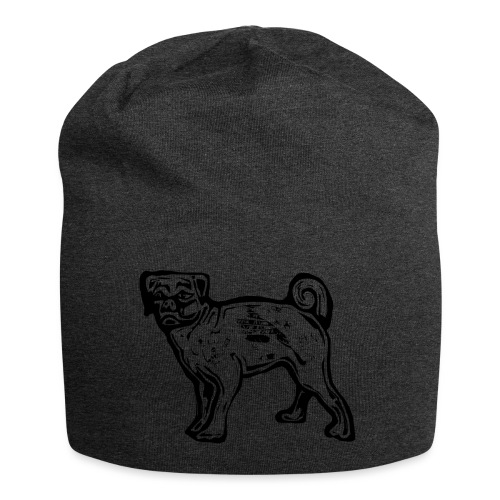 Pug Dog - Jersey Beanie
