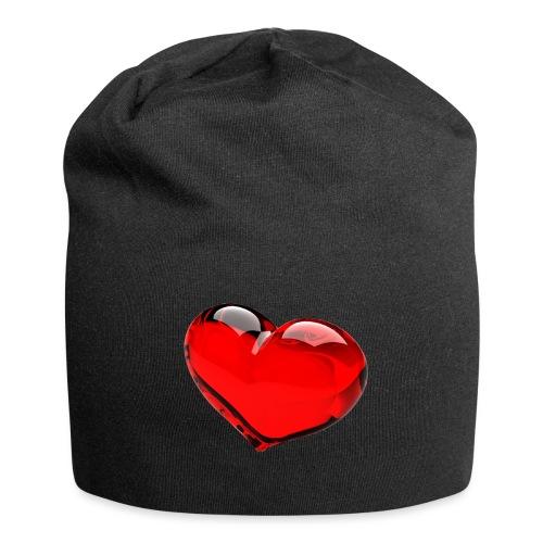 serce 3D - Czapka krasnal z dżerseju