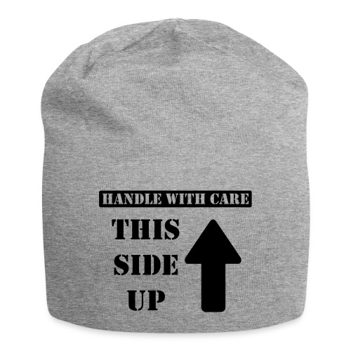 Handle with care / This side up - PrintShirt.at - Jersey-Beanie