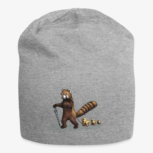 Red Panda with Ducks - Jersey Beanie