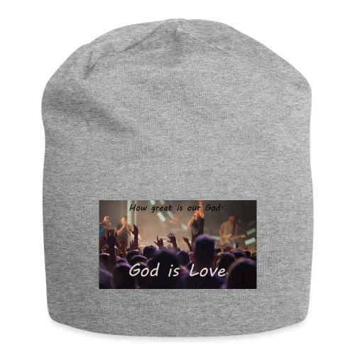 GOD is LOVE. - Jersey-Beanie