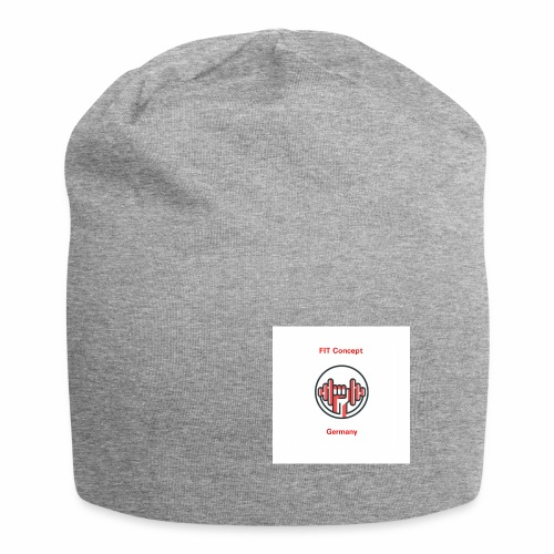 FIT Concept Germany Logo+Beschriftung - Jersey-Beanie