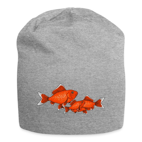 Poissons rouges - Bonnet en jersey