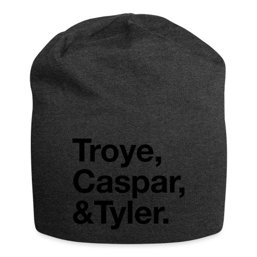 TROYE CASPAR AND TYLER - YOUTUBERS - Beanie in jersey