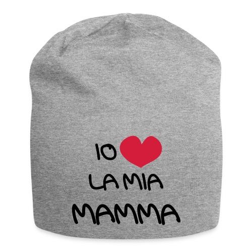 Io Amo La Mia Mamma - Beanie in jersey