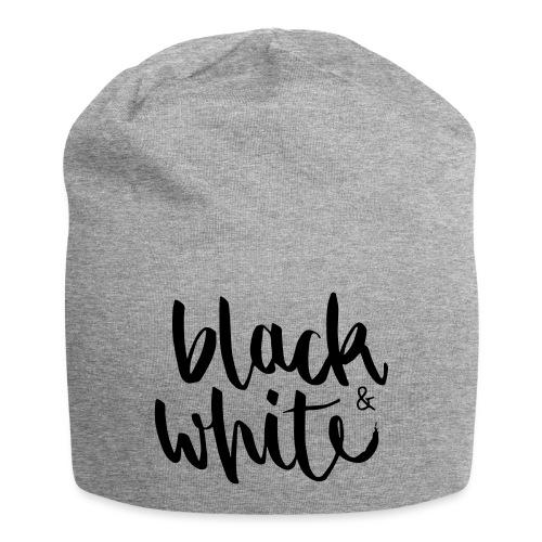 black&white1 - Jersey-Beanie