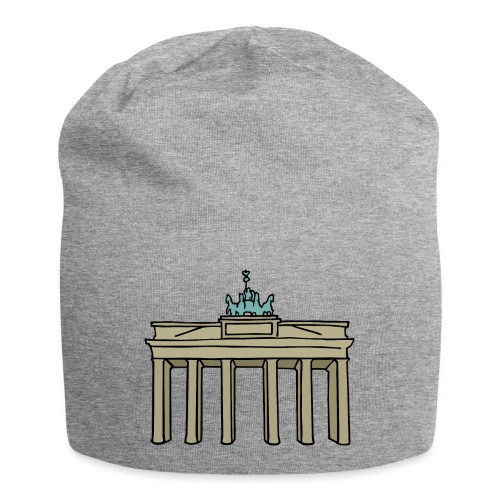 Porta di Brandeburgo a BERLINO c - Beanie in jersey