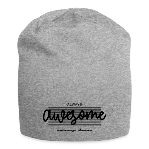 Always Awesome - Beanie in jersey