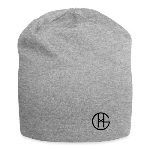 Hookgrip logo black - Jersey-beanie