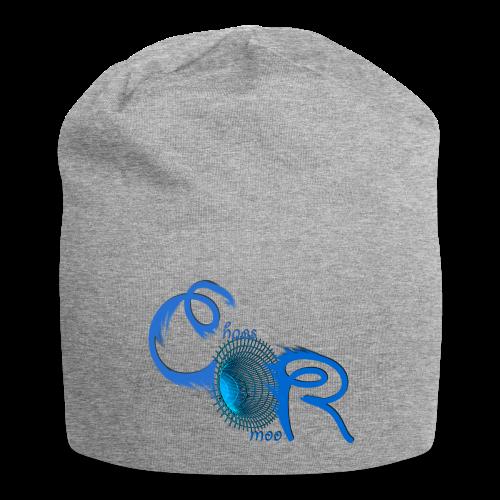 ChaosRoom Logo Blau - Jersey-Beanie