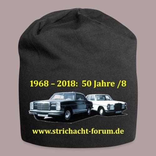 50jahre /8 strichacht-forum.de in gelb - Jersey-Beanie