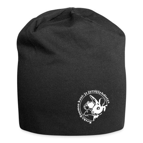 KSKJY logo- Valko-musta - Jersey-pipo