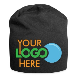 Your Logo Here - Jersey Beanie