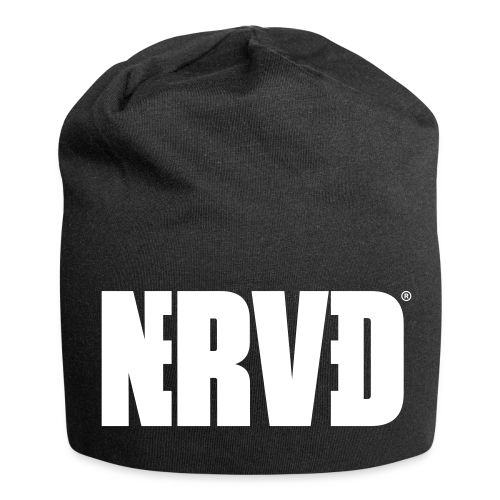 Official Nerved@ White Logotype - Jersey Beanie