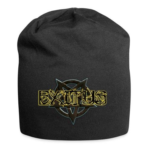 Exitus Schriftzug - Jersey-Beanie