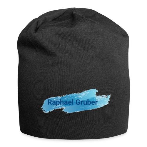 Blaues Raphael Gruber Design - Jersey-Beanie
