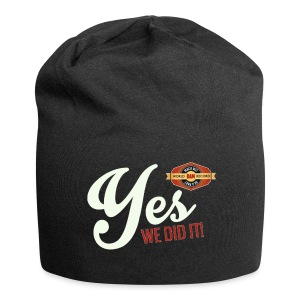 YES-we did it_white - Jersey-Beanie