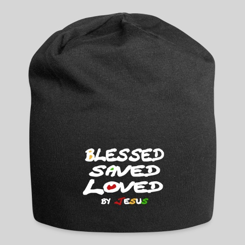 Blessed Saved Loved by Jesus - Jersey-Beanie