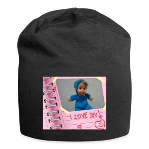 FIAMMIFERINO_LOVE-png - Beanie in jersey