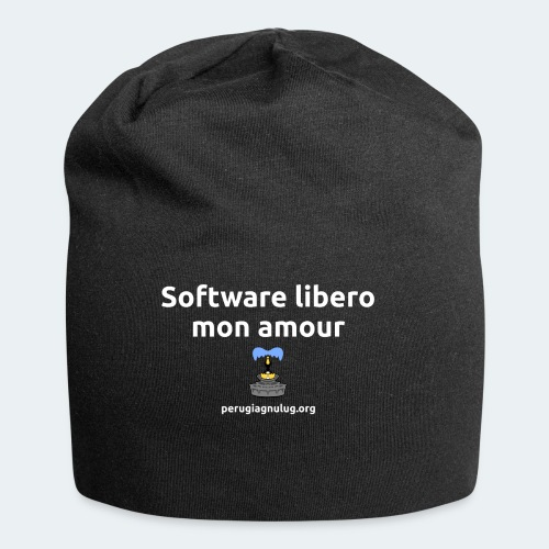 Software libero mon amour - Beanie in jersey