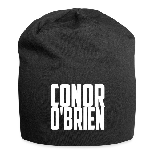 The Conor O'Brien Logo (White Edition) - Jersey Beanie