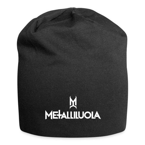 Metalliluola valkoinen logo - Jersey-pipo